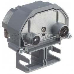 Multimedia Enddose R&M IEC-M/F 2-Loch 4dB