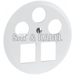 Rondelle 3x Koax, 2x RJ45 SAT