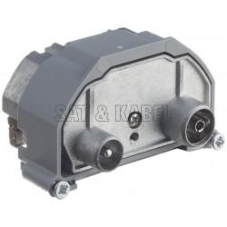 R&M IEC-M/F 2-Loch 15dB ohne Modulhalterung