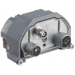 R&M IEC-M/F 3-Loch 15dB ohne Modulhalterung