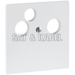 Frontpl. 3x Koax, MiniDat EDIZIO